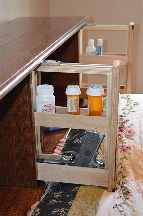 bed headboard  hidden compartments  hide weapons