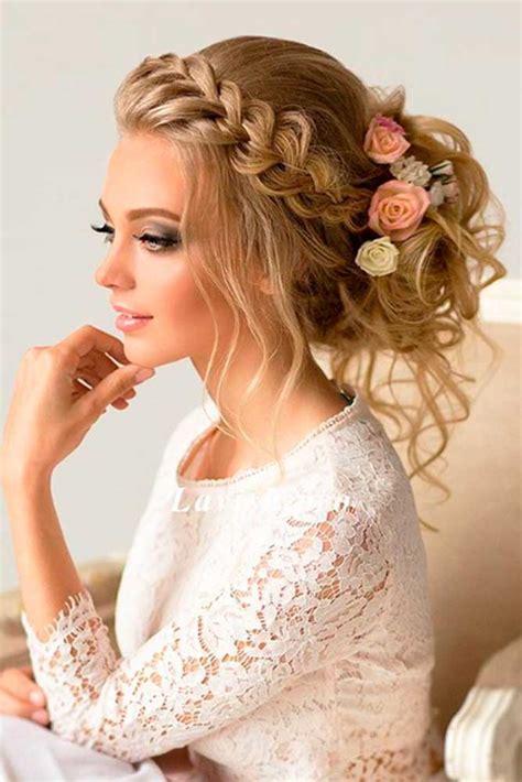 Bridal Wedding Hairstyle for Long Hair