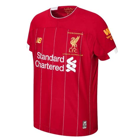 The liverpool 2019/20 home kit is available to preorder from the new balance web store now, before arriving in all stores on may 9. Liverpool Home 2019/20 Champions Shirt | Premier League ...