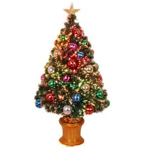 fiber optic christmas tree 3 fiber optic green decorated artificial christmas tree my