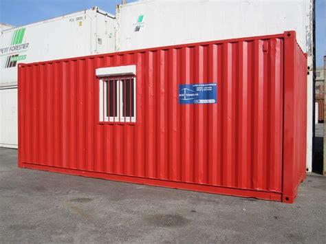 conteneur bureau transformation de container maritime en bureau