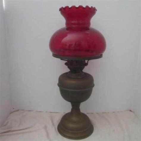 kerosene l shades antique kerosene l with ruby glass shade