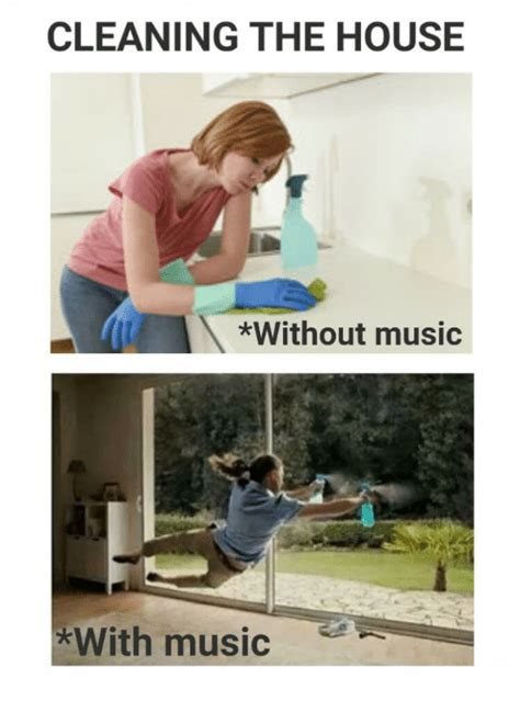 Cleaning Meme Cleaning The House Without With Meme