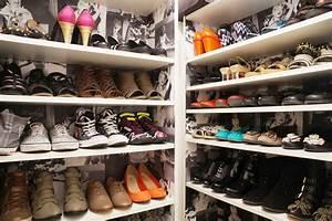 Rangement à Chaussures : mon shoesing diy cr er facilement un rangement pour chaussures ~ Teatrodelosmanantiales.com Idées de Décoration