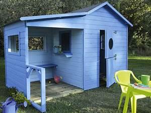 Cabane Enfant Leroy Merlin : la cabane en bois dans le jardin les enfants adorent ~ Melissatoandfro.com Idées de Décoration