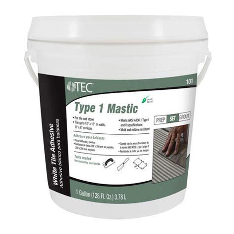 tec 174 type 1 mastic 1 gal at menards 174