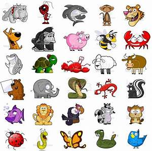 Pics of cartoon animals- cartoon character pictures ...