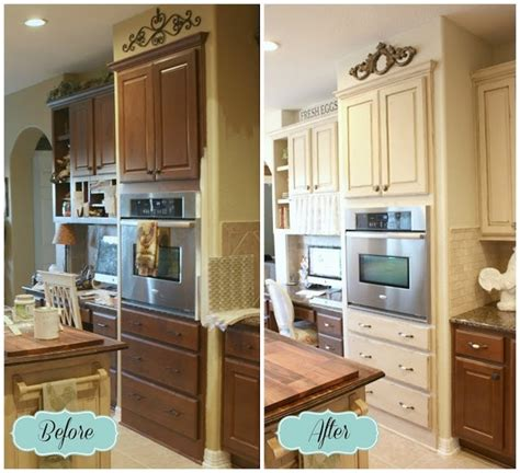 chalk paint kitchen cabinets creative kitchen makeover ideas