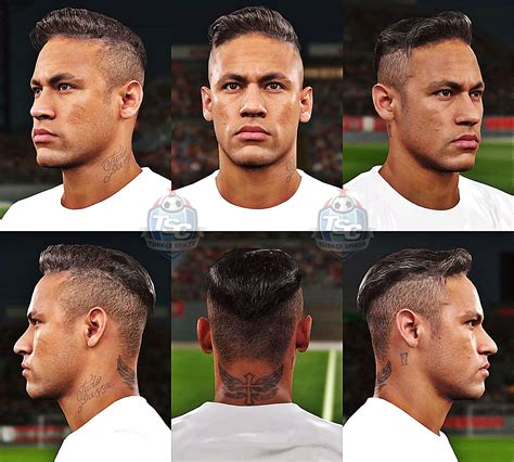 pes  neymar face revealed  konami pes patch