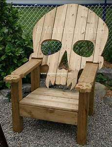 Reclaimed Pallet Adirondack Chairs Pallet Wood Projects