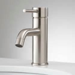 Single Faucet Bathroom Sink by Ultra Single Bathroom Faucet With Pop Up Drain