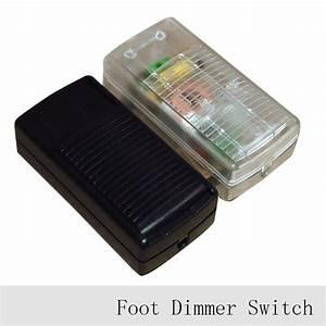 1pc 220v lamp foot dimmer switch floor light table lamp for Floor standing lamps with dimmer switch