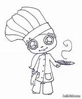 Chef Coloring Cooking Hat Chefs Silhouette Mexican Hellokids Printable Getcolorings Getdrawings Chinese Tiny Popular sketch template