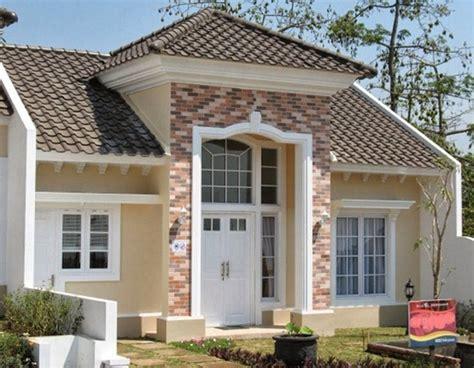 contoh fasad rumah eropa sederhana fasad rumah