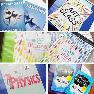 DIY Binder Covers inspired by YA Books – Back to School ...