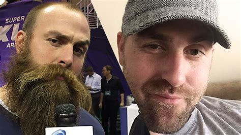 pittsburgh steelers dl brett keisel shaves beard