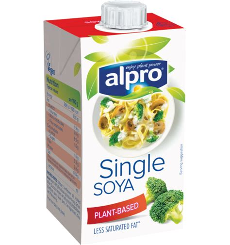 soya cuisine alpro plant based alternative small soya single