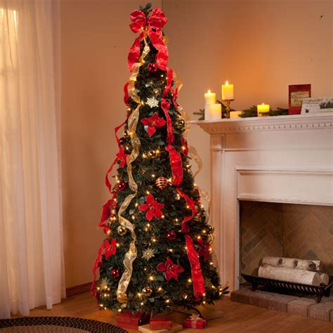 ft pull  fully decorated tree pull  christmas