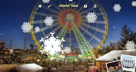 europa park adventskalender  mit uebernachtung als