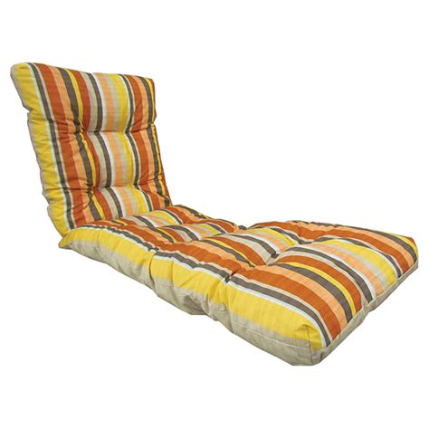coussin pour chaise longue patio lounge chair cushion reversible coral rona