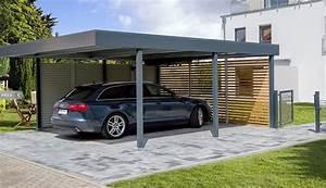 Innenliegende Dachrinne Carport : flachdach carport ~ Whattoseeinmadrid.com Haus und Dekorationen