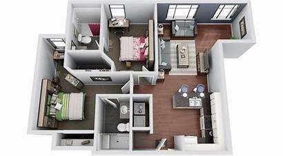 Floor 3d Plans Modern 3dplans Housing Ucf