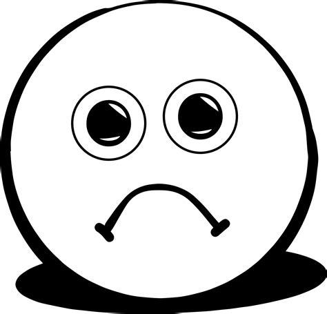 sad face coloring page wecoloringpage sad faces