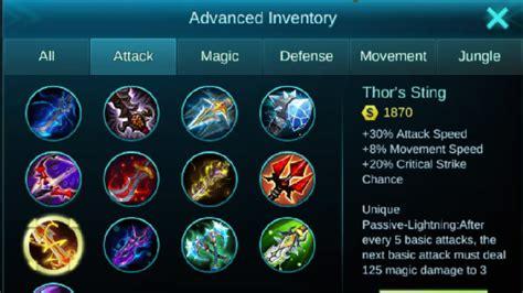 Senjata Perang Baru! Ini Daftar 5 Gear Baru Mobile Legends