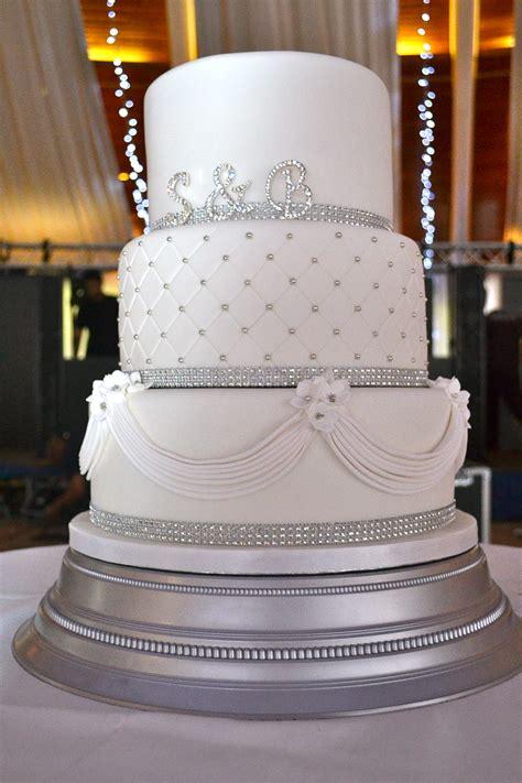diamante and drapes wedding cake wedding cakes cakeology