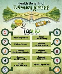 Top 10 Health Benefits of Lemongrass   Top 10 Home Remedies