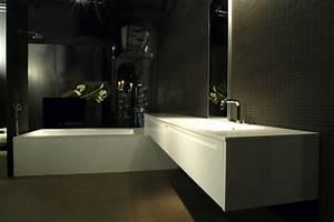 meuble salle de bain pure gallery of gallery of meuble With carrelage adhesif salle de bain avec bandeau led ikea