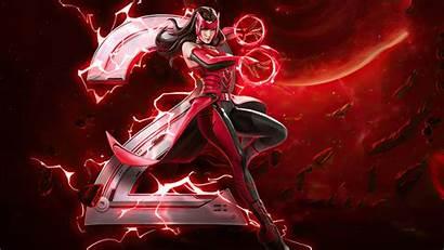 Witch Scarlet Marvel War Super Wallpapers Games