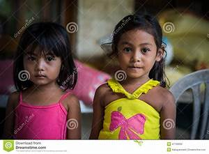 Sisters, Earthquake Victims, Bohol Philippines Editorial ...