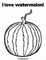 Watermelon Coloring Pages Fruit Sheet San Judas Tadeo Template Sketch sketch template
