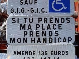 Les Places De Parking Handicapés Sont Elles Payantes : places r serv es aux personnes handicap es des autocollants pour lutter contre les incivilit s ~ Maxctalentgroup.com Avis de Voitures