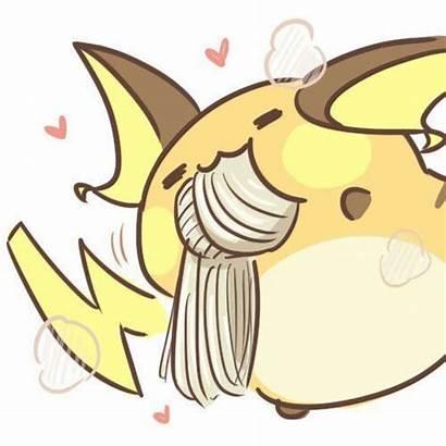 Bored Raichu Nope Pikachu Pokemon