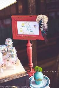 Kara39s Party Ideas Boho Bridal Shower Wedding Dessert