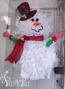 snowman wreath tutorial trendy tree ebook database