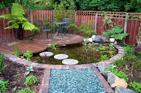small garden with pond small garden pond ideas uk landscaping gardening ideas