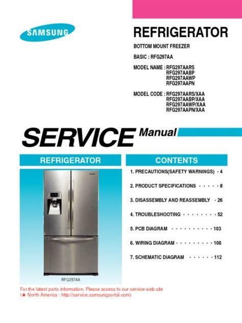 ge monogram refrigerator repair manual