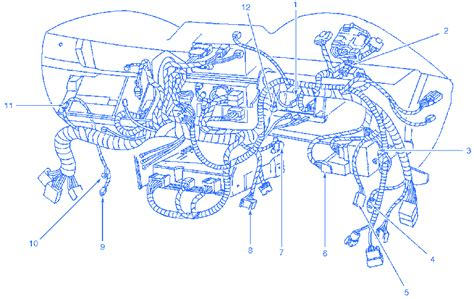 2002 Mustang Gt Wiring Diagram by Ford Mustang Gt 2002 The Dash Electrical Circuit