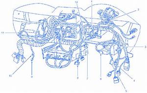 Ford Mustang Gt 2002 Under The Dash Electrical Circuit Wiring Diagram  U00bb Carfusebox