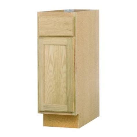 12x34 5x24 in base cabinet with in unfinished oak b12ohd