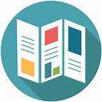Icon Brochure Management