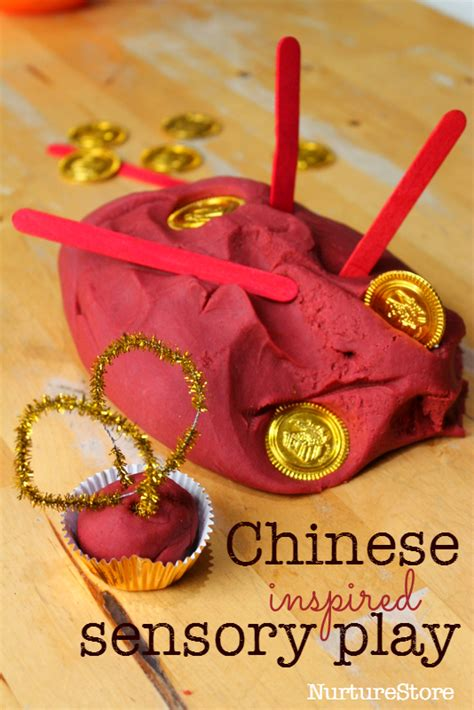 the best 60 new year crafts and activities for 792   chinese new year sensory play idea