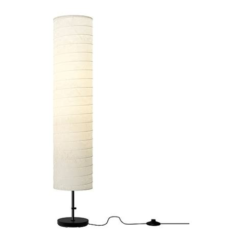 floor l light ikea holmo white rice paper shade modern