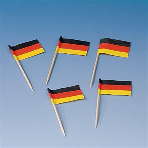 Getränkekühler deutschland, fußball, aufblasbar, 37 cm. 200 Flaggenpicker * DEUTSCHLAND * // Party deutsche Farben ...