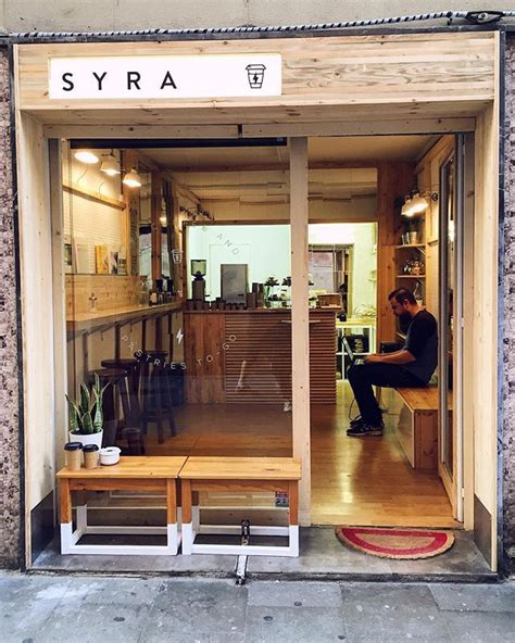 Nowadays, it seems like they're everywhere. Nuevo local cafetero en Gràcia ☕️ | Coffee shops interior, Shop interiors, Coffee shop design