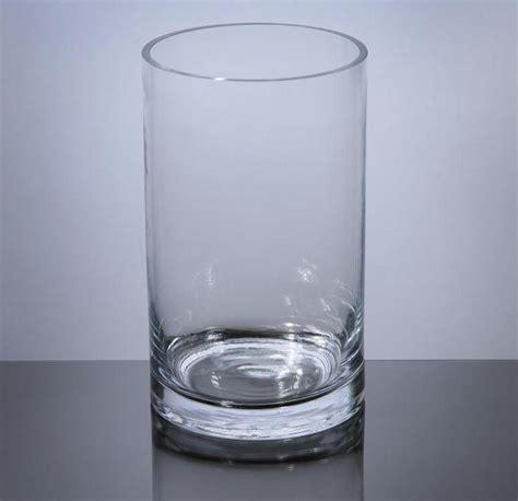 cylinder glass vases pc508 cylinder glass vase 5 quot x 8 quot 12 p c cylinder glass