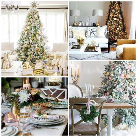 christmas styling chic glam christmas style series the happy housie